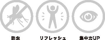 防虫 / リフレッシュ / 集中力UP